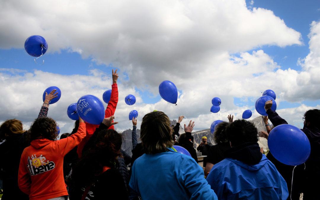 Verticale Solidale 2018, una montagna di emozioni